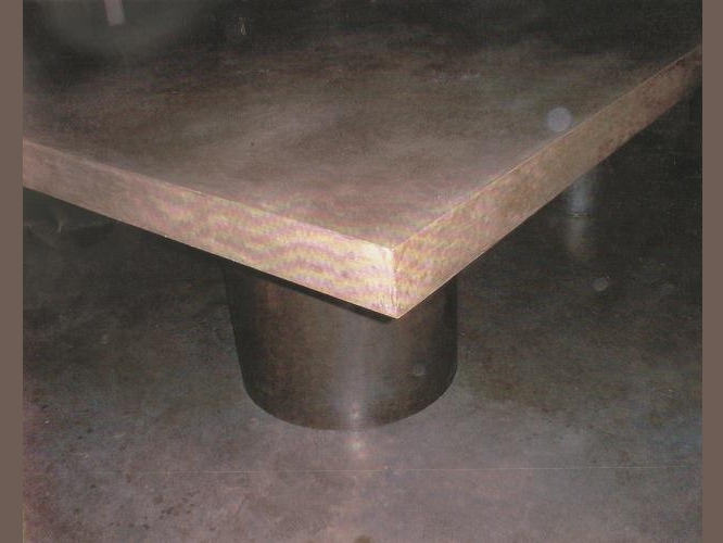 Concrete Benches and Tables