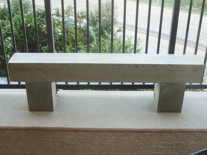 Concrete Benches And Tables Spirit Ridge Studios
