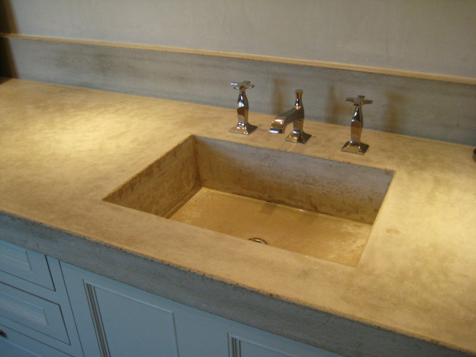 Concrete Sinks And Bathtubs Spirit Ridge Studios